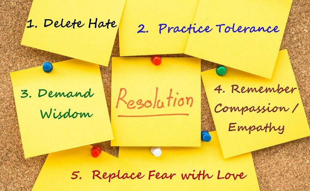 Top Five Career Resolutions